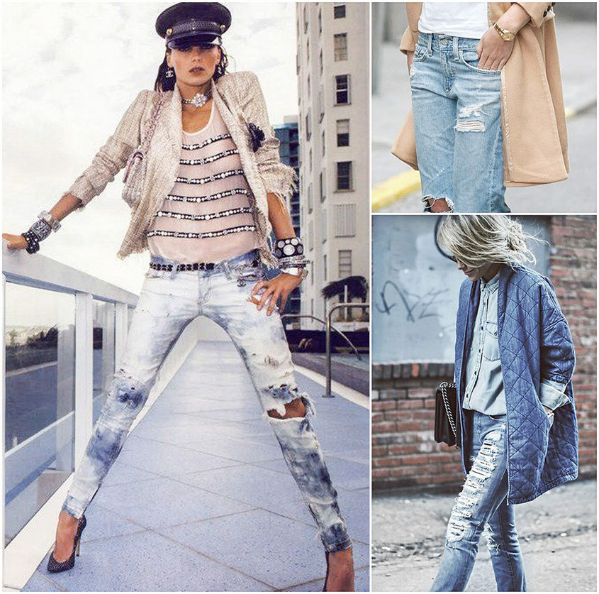 Denim Trends 2016 | Sommer Jeans im feshen Batik oder Used Look | hot-port.de | Fashion Trends from Germany