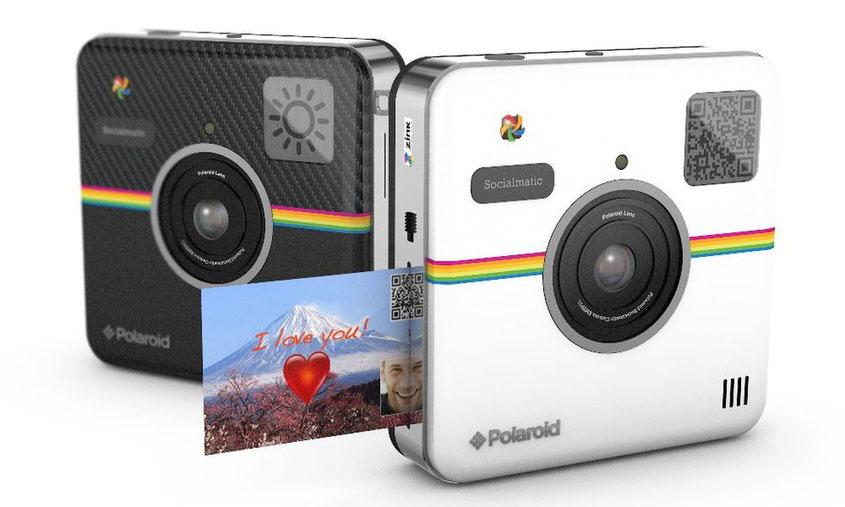 Polaroid Socialmatic Sofortbildkamera mit Instagram Anbindung