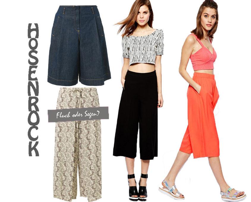 Hosenröcke oder auch neumodisch Culottes genannt sind der Style Trend 2014 | Oje, ist das jetzt Fluch oder Segen