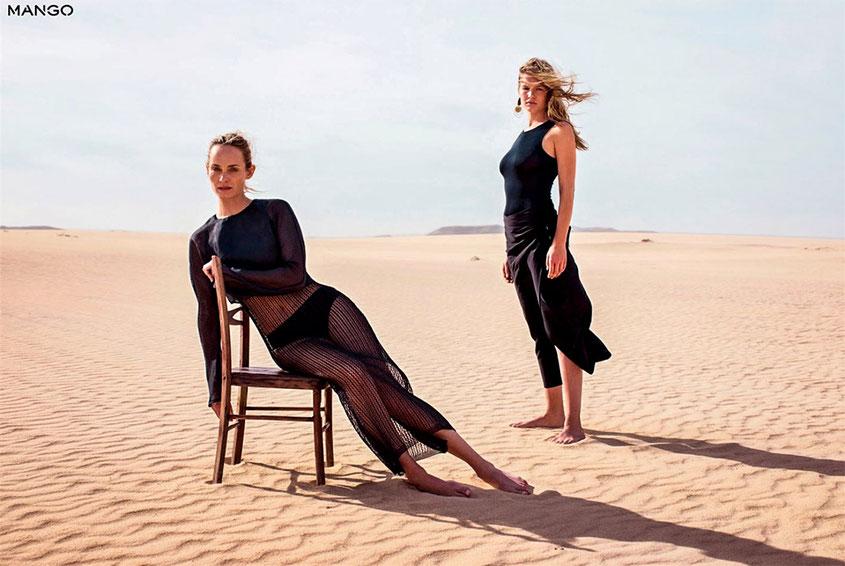 Mango Lookbook Spring Summer 2018 | Frühjahr Sommer | Mode vom spanischen Label Mango mit der wunderbaren Amber Valletta | hot-port.de | 30+ Style Blog
