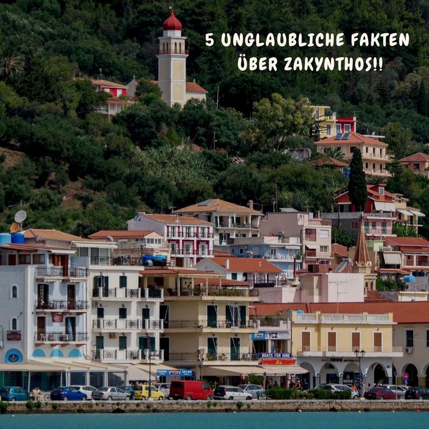 Zakynthos ist eine hübsche, kleine Insel mitten im Ionischen Meer. Die Hafenstadt Zakynthos (Zante Town), die sich rund um den am Wasser gelegenen Solomos-Platz erstreckt, ist die Hauptstadt und das wichtigste Handelszentrum der Insel. Trotzdem birgt auch dieser HotSpot ein paar Geheimnisse | Beautiful Greece | Hot Port Life & Style | 30+ Lifestyle Blog