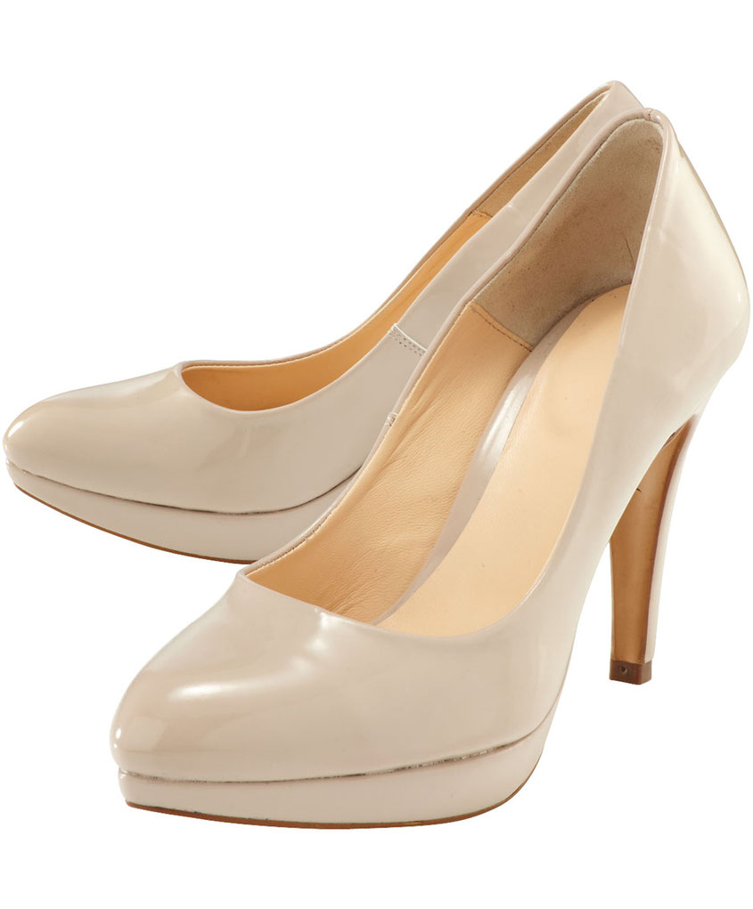 Elegante Lackpumps mit High Fashion Charme