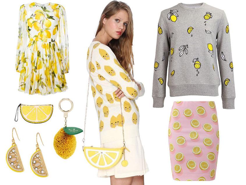 Sauer macht lustig | Glaubt man zumindest den neuesten Fashion Trends, sind Zitronen gerade schwer angesagt | Hot-port.de | 30+ Lifestyle & Fashion Blog