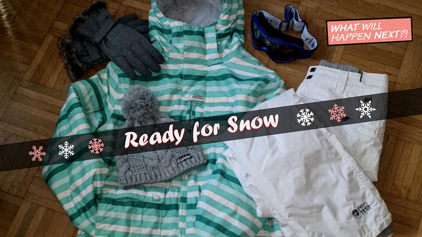 Ready for Snow | Das Pisten Setup | Snowboard Skijacke Nitro | Skihose Protest | Handschuhe Ziener | Wintermütze Eisbär | Goggle Smith | hot-port.de | 30+ Style Blog