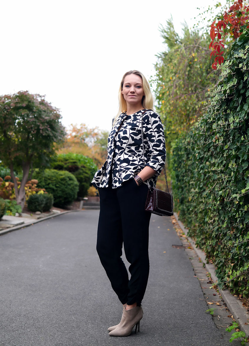 Herbst Trends mit Hallhuber | Fall Flower Power Blazer Outfit | hot-port.de | 30+ Lifestyle & Fashion Blog