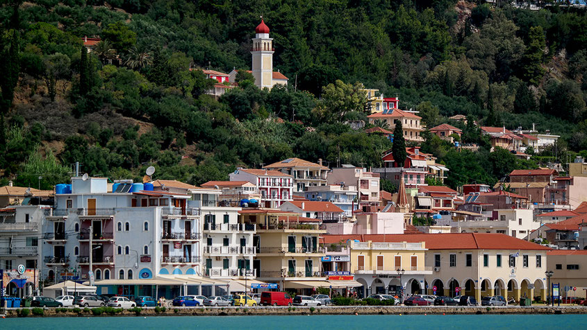 Zakynthos Zante Town | Beautiful Greece | View from the Boat | hot-port.de | Lifestyle Blog