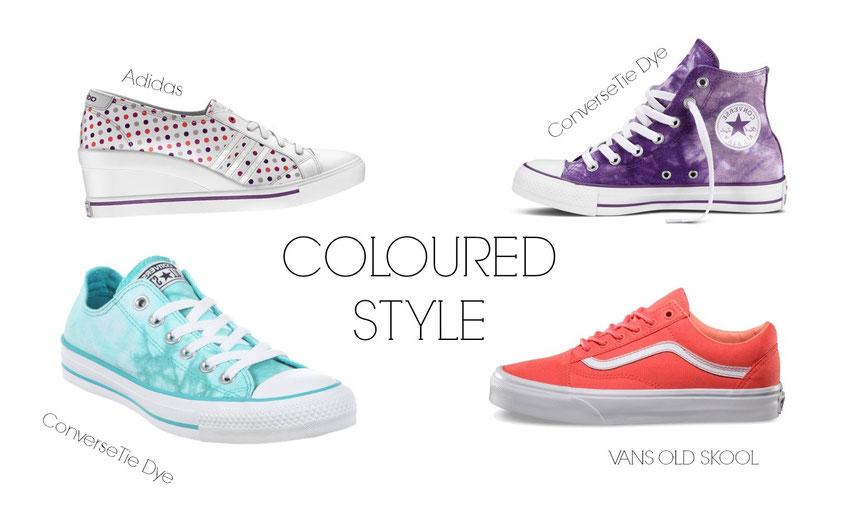 Sneaker Freaker | Sneaker Trends 2014 | Coloured & Batik Style