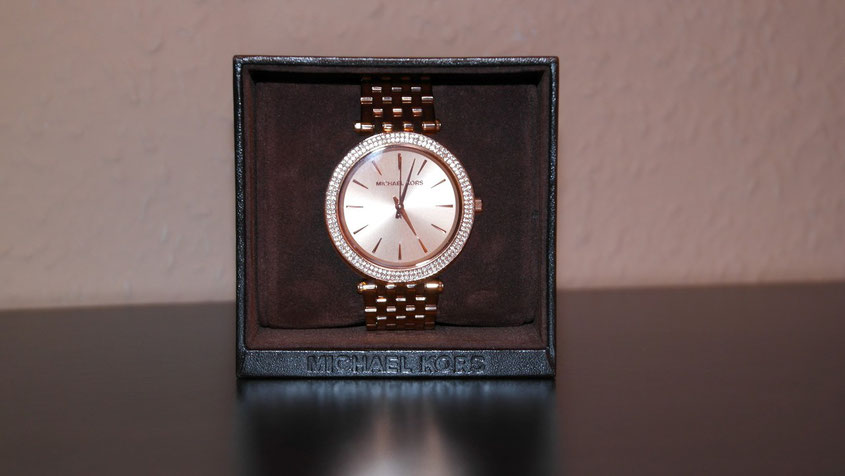 Michael Kors Darci Rose Golden