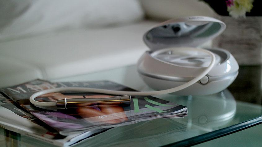 Mit dem Beurer FC 100 Pureo Derma Peel Mikrodermabrasionsgerät für Zuhause zu praller, straffer Haut | Franny´s Anti-Aging Wunder im Langzeittest | Hauterneuerung, gegen Falten | hot-port.de | Style & Fashion Blog für Frauen über 30