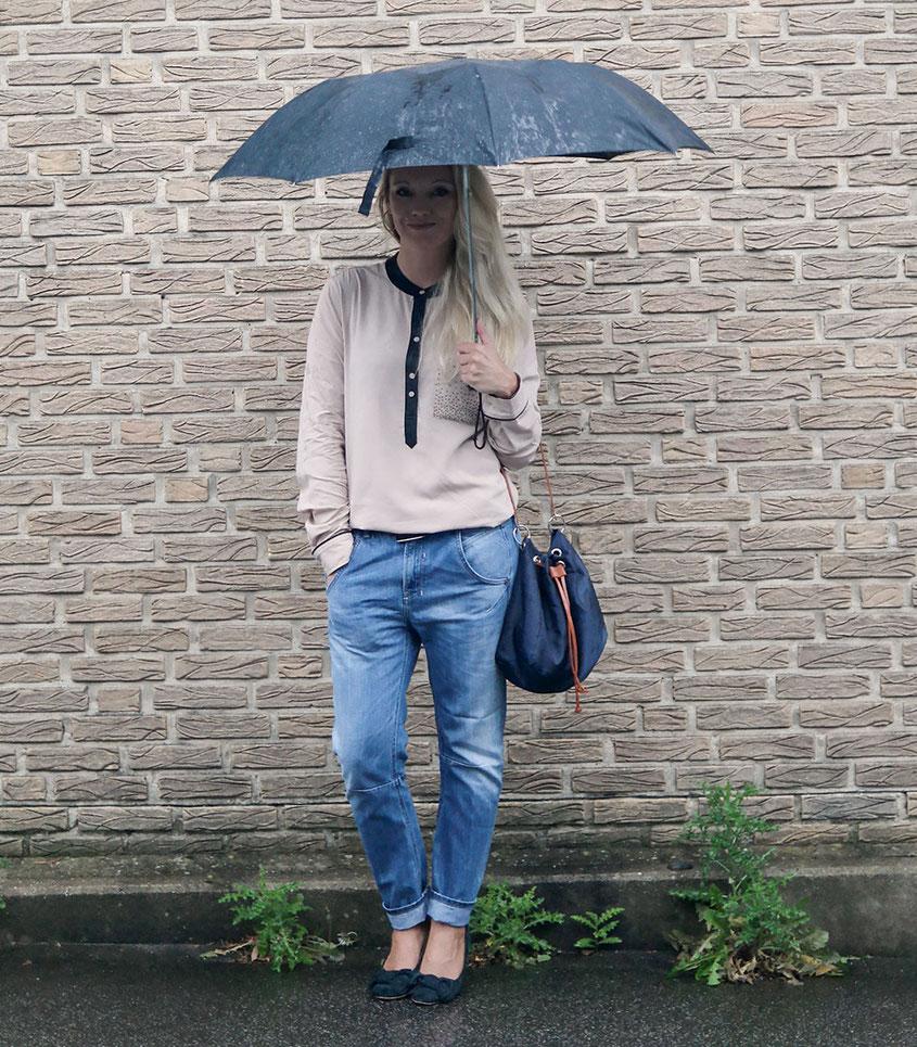 Outfit | Boyfriend Jeans & Liebeskind Bluse