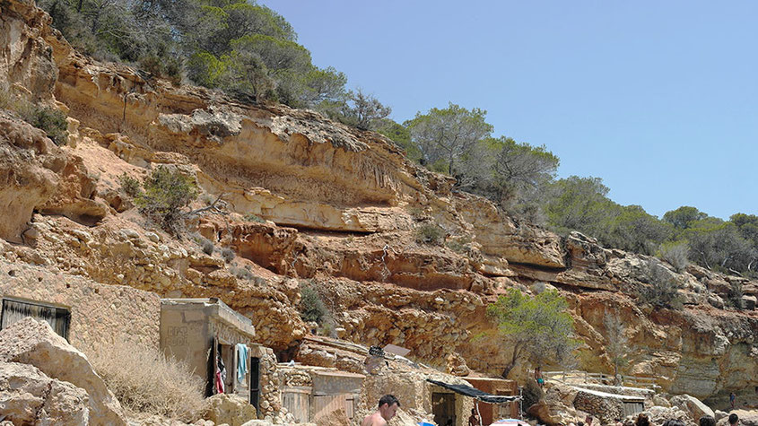 Ibiza Insider Tipps | Cala Salada Felsvorsprung