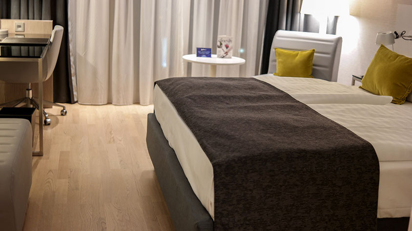 Wohlfühl & Lifestyle Ambiente im Radisson Blu Hotel Hannover