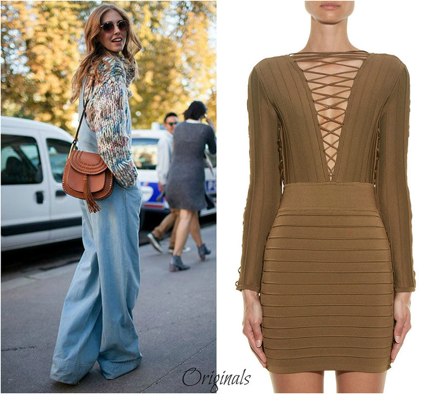 Fashion Trend | Designer Originale & Look Alikes z.B. Kleid von Balmain
