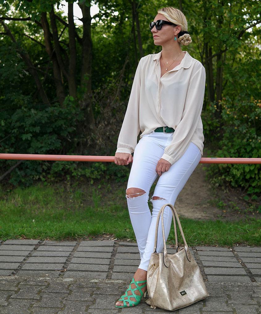 Fashion Style | 30+ Outfit Creme de la Creme von Franny Fine | Helle Farben fuer den Sommer | hot-port.de | Lifestyle Blog