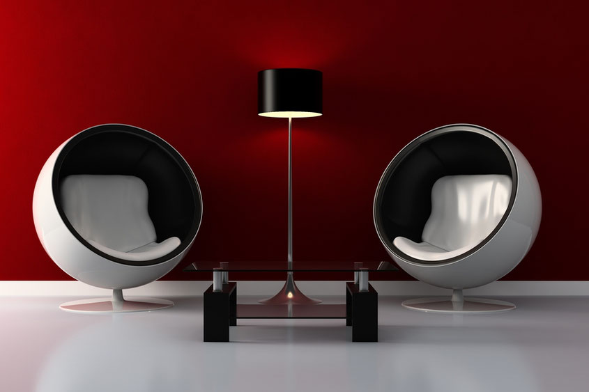 Der Inbegriff des Retro Stils: Der Egg Chair! Photo Credit Depositphotos.com | Hot Port Life & Style