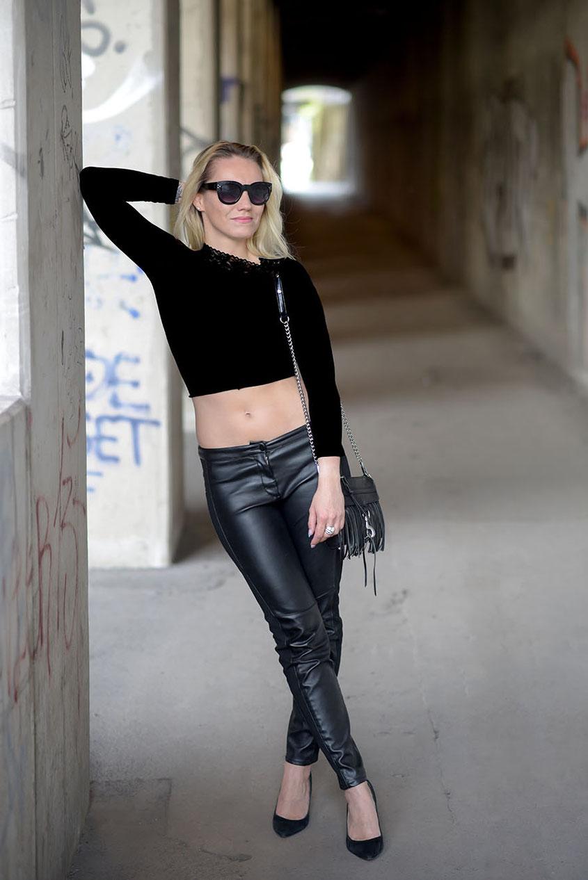Lieblingsstück Lederhose | Ein Style Trend, von dem ich mich vermutlich nie trennen werde
