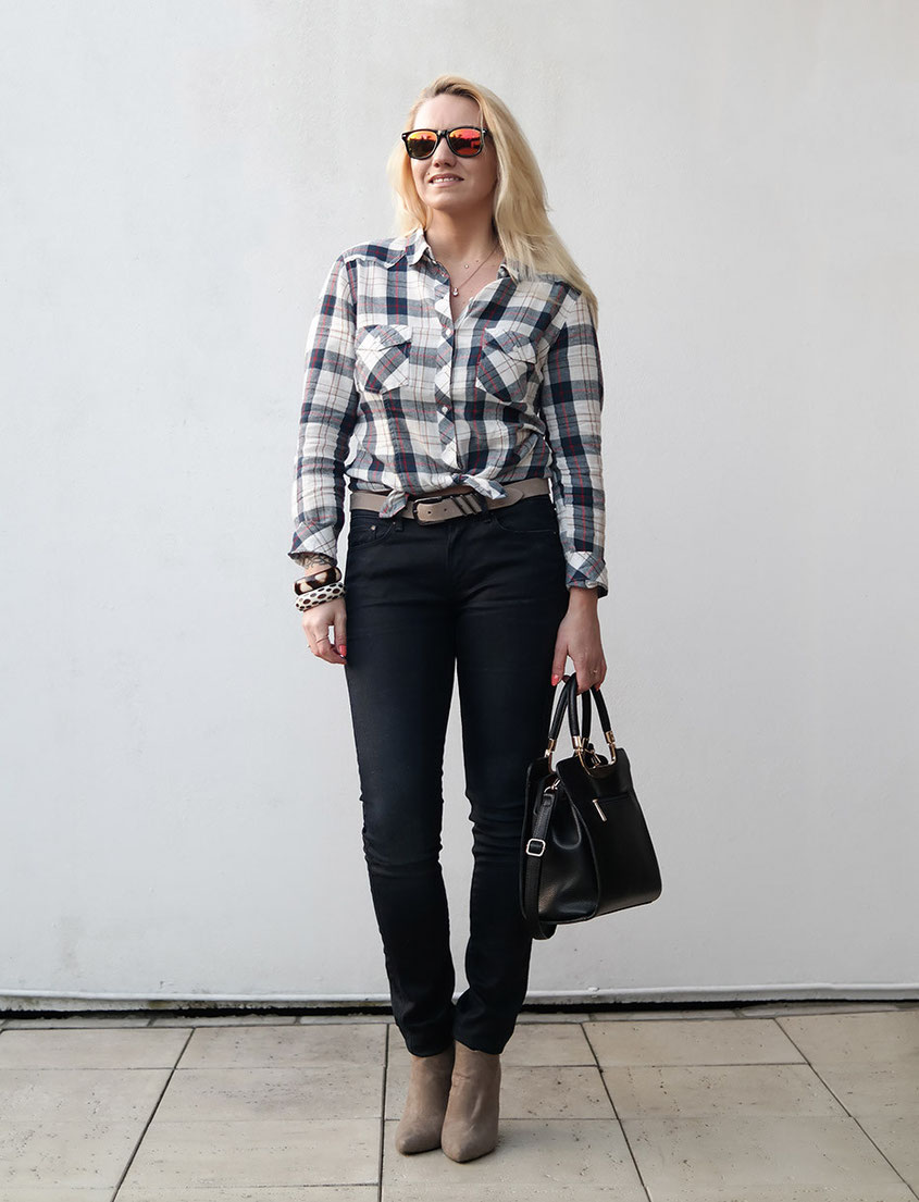 Outfit G-Star Raw Contour X Chester Shirt | High Waisted Denim Trends | Hot-Port.de | German Over 30 Fashion Blog
