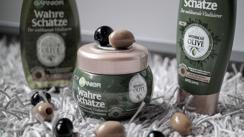 Garnier Mythische Olive Pflegeprogramm | Blogger Weihnachtsgeschenk der Garnier Blogger Academy