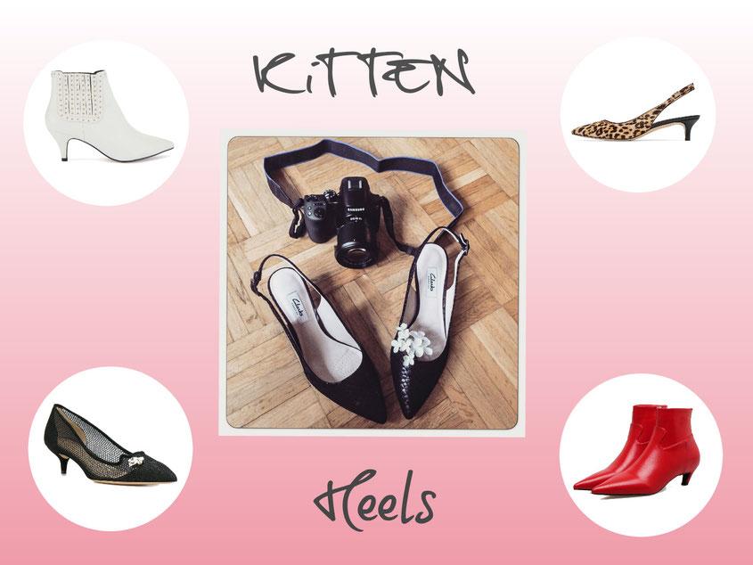 Style Trend Kitten Heels | Dass kleine Absätze nochmal zum Knaller werden, hätte vermutlich niemand zu träumen gewagt | hot-port.de | 30+ Style Blog