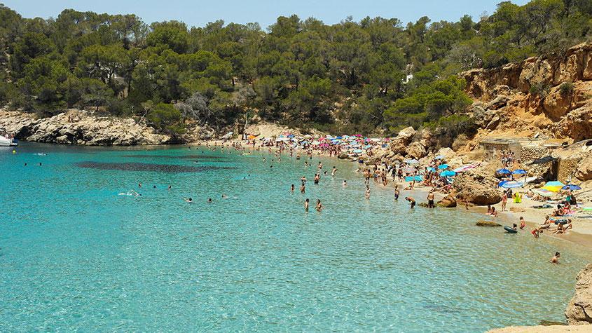 Ibiza Insider Tipps | Cala Salada Bucht 5