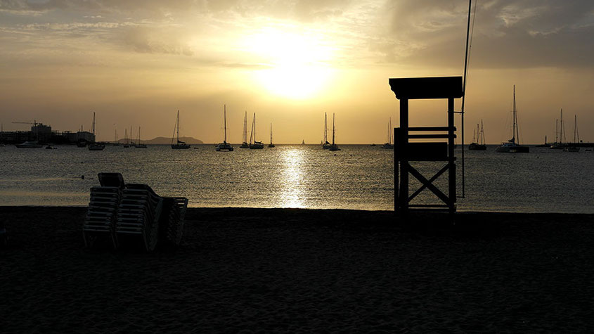 Ibiza Sunset Beach San Antonio