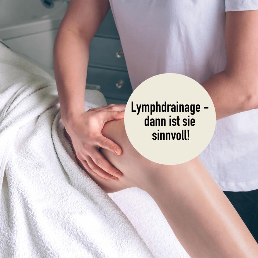 Lymphdrainage in Basel durch erfahrene Physiotherapeuten bei der Physiotherapie Basel, Wellsana