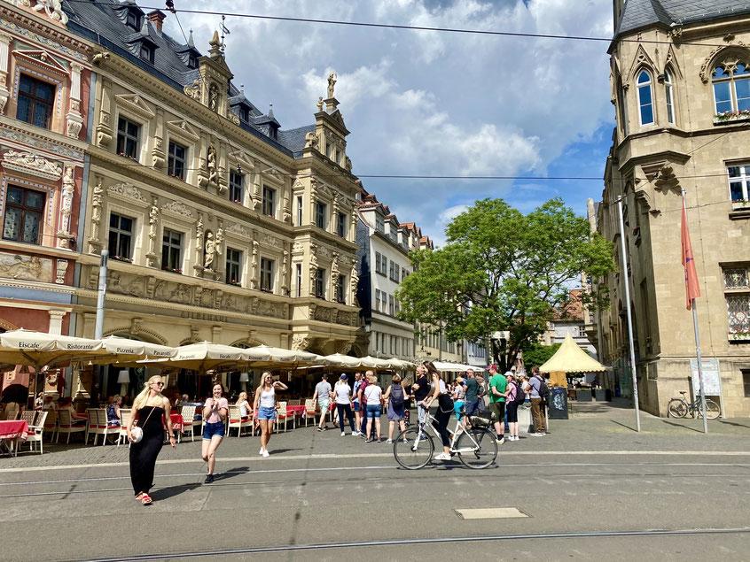 Stadtleben in Erfurt
