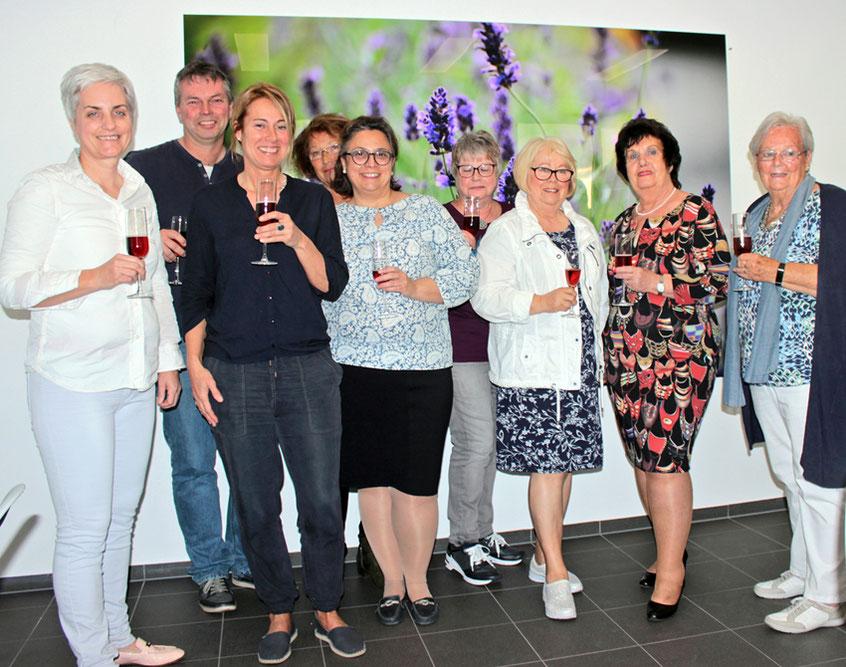 Kennenlerntreffen des Kneipp Verein mit neuem Vorstand.