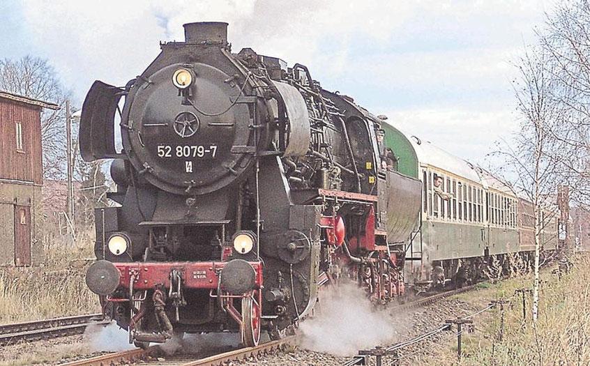 Anfahrt mit der Eisenbahn