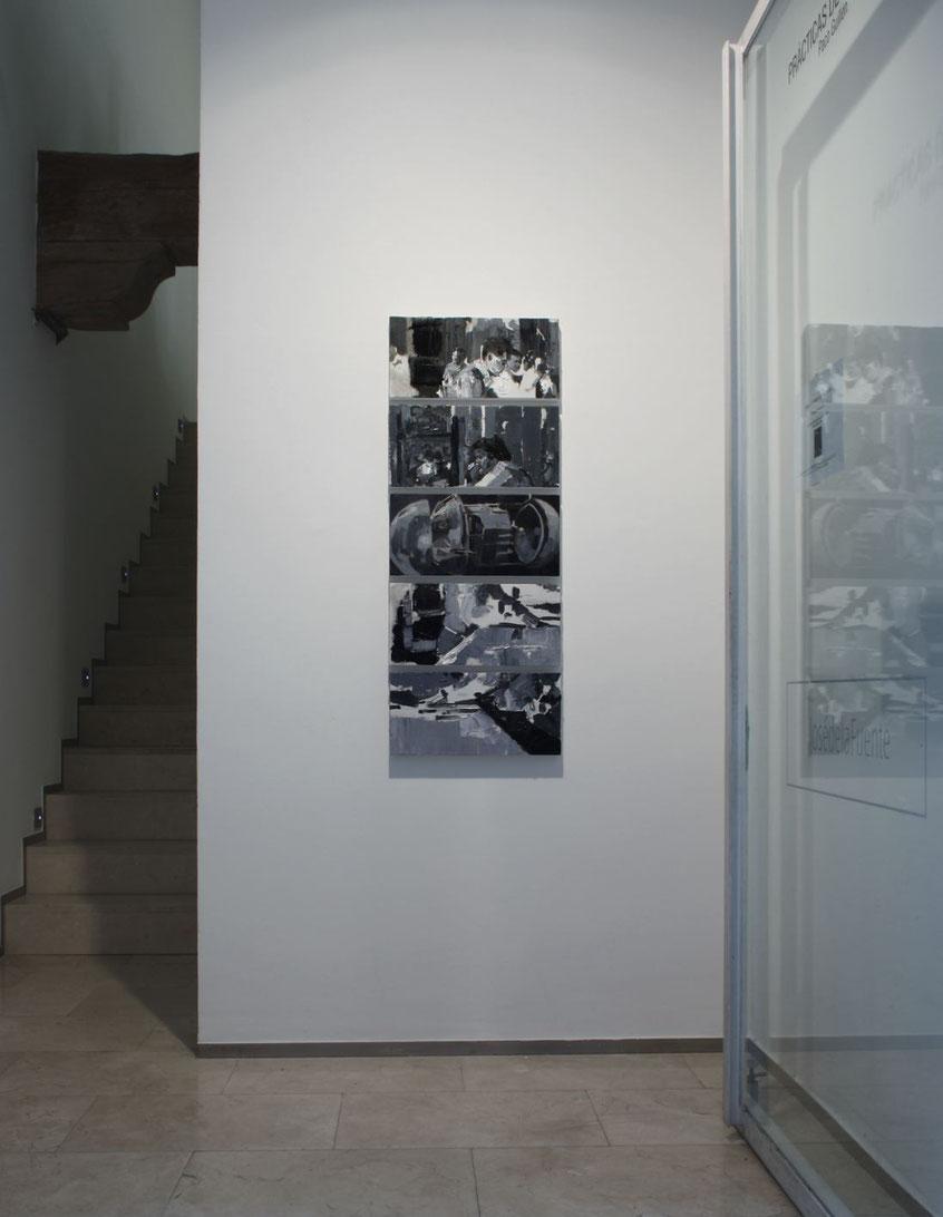 Oxímoron. Installation view at JosédelaFuente gallery. 2017