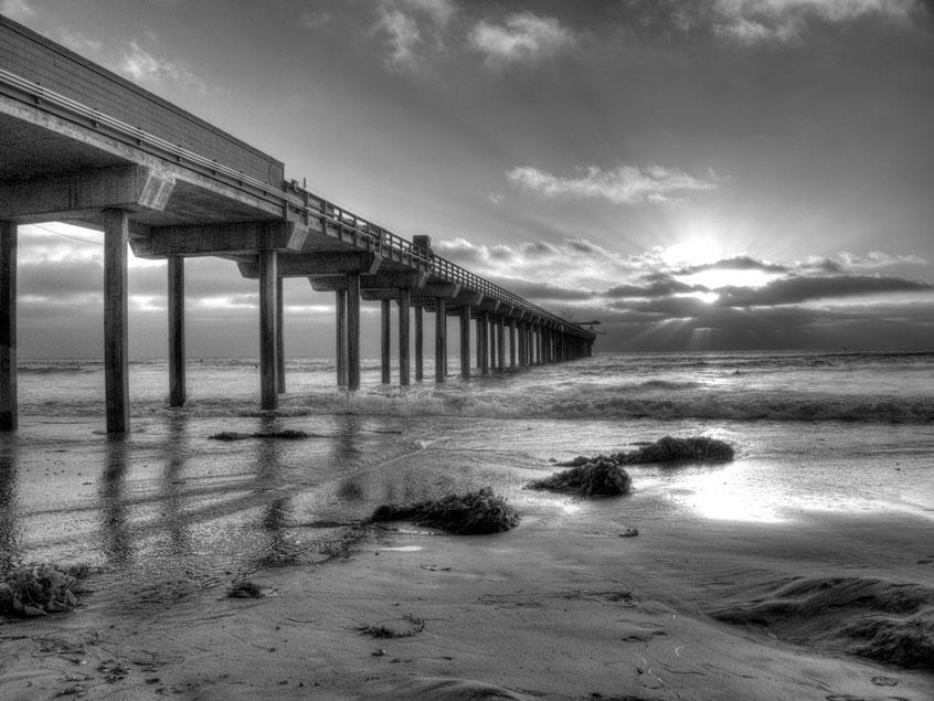 La Jolla Scripps Pier; San Diego