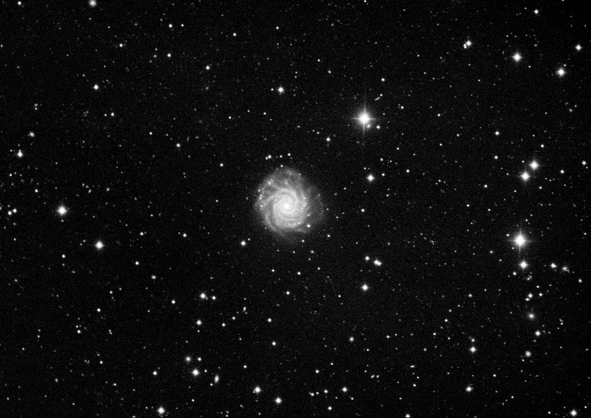 NGC 3839, Esprit 100/550, 5x10min