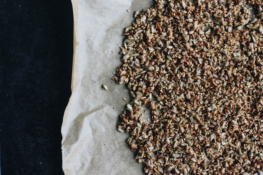 Getreidefreies Kern Granola