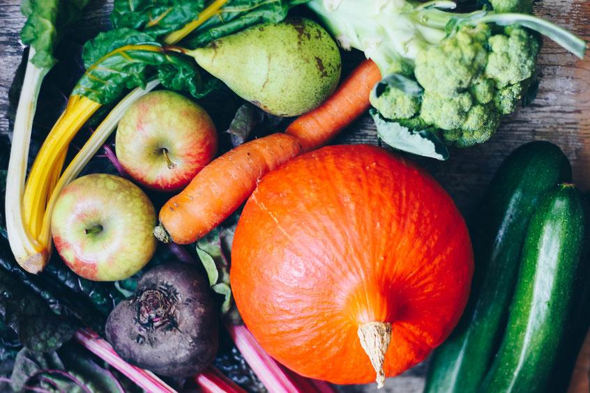 Herbst Gemüse