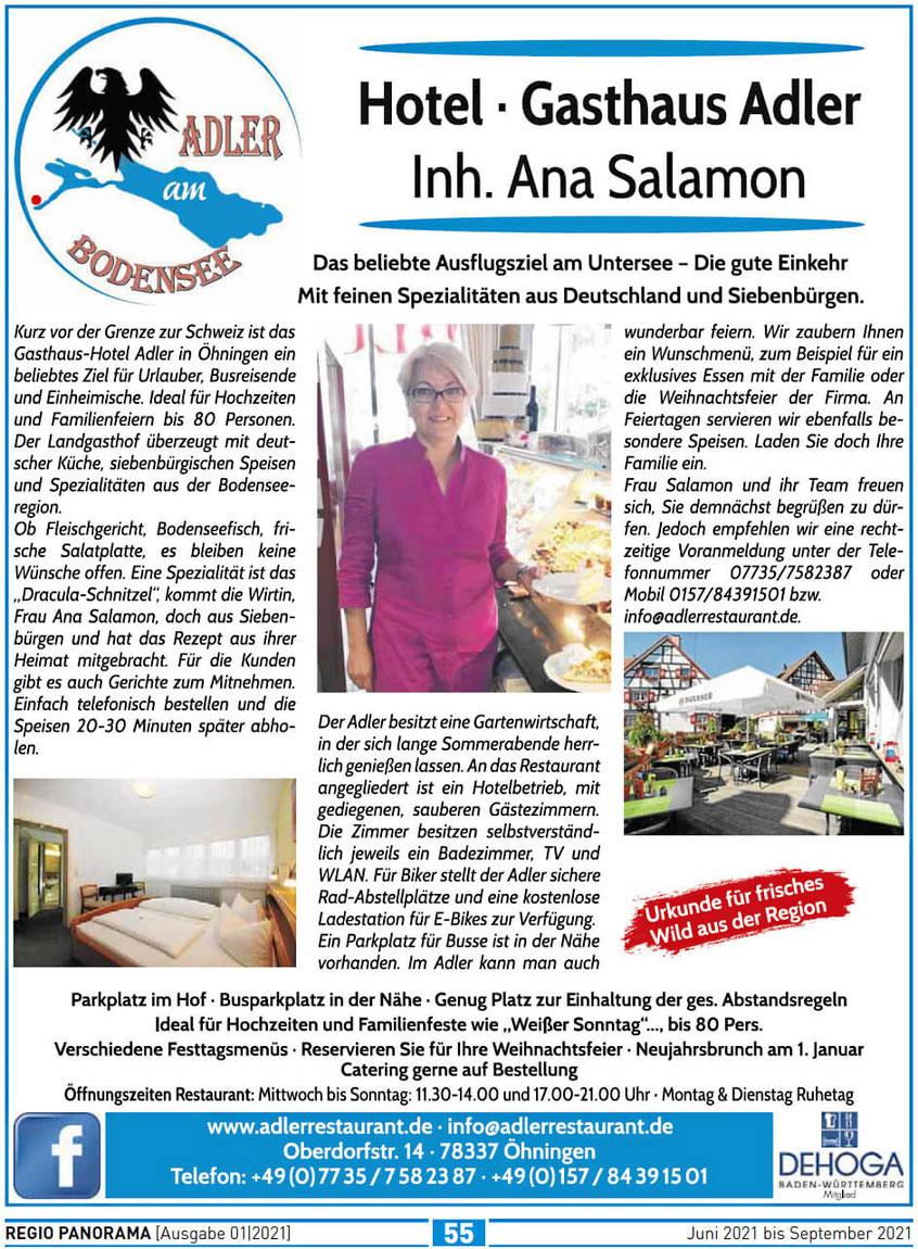 Zeitung Regio-Panorama 01/2021
