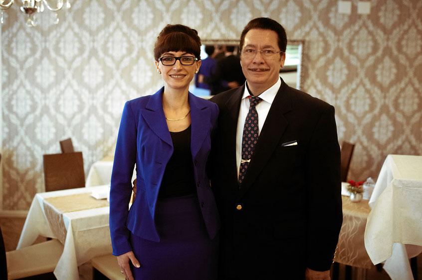 Rosanne De Marco und Enrico Lamano. Inhaber Konditorei Angolo Dolce Liestal.