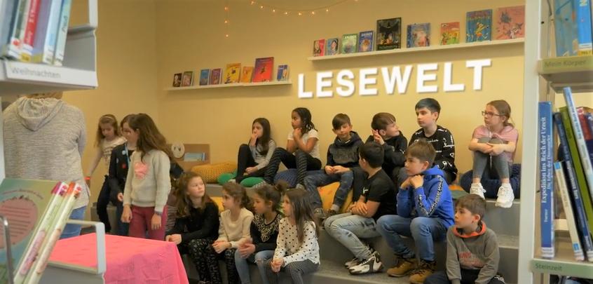 Lesewelt - Freizeit-Angebot für Kinder an der Schule Littau Maihöfli