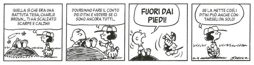"Charles M. Schulz, ""Peanuts"", 4 aprile 1979"