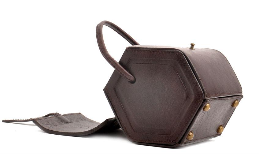 Dirndltasche Vintagetasche Leder versandkostenfrei kaufen . OWA THERESA braun