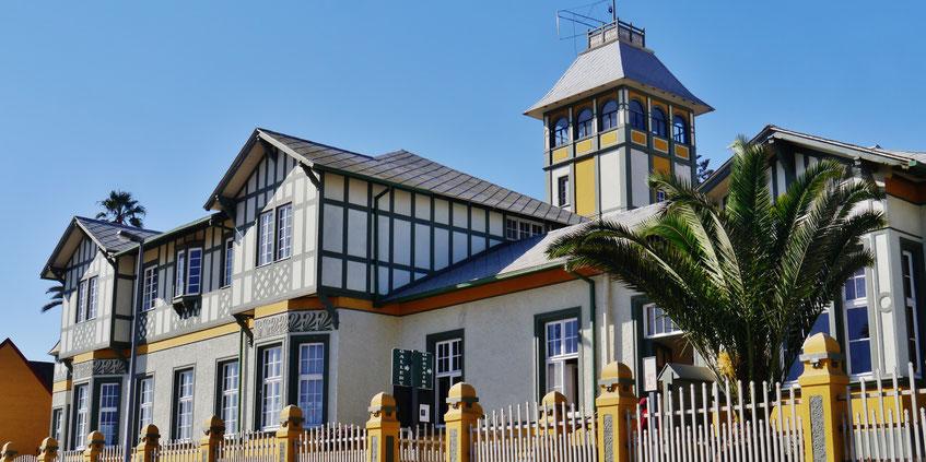 Swakopmund Blog Woermann Haus