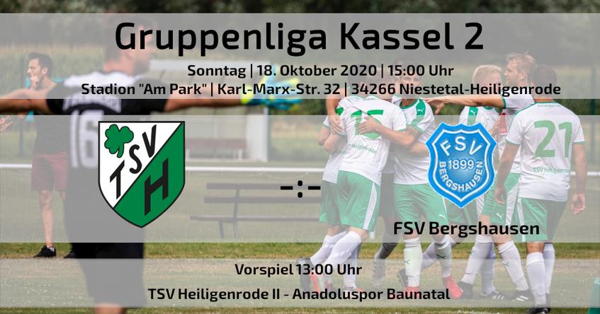 Gruppenliga Kassel TSV Heiligenrode FSV Bergshausen Fußball
