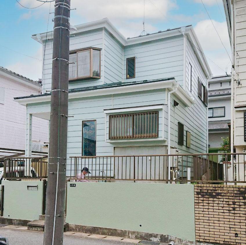 千葉市若葉区大宮町の屋根カバー工法、外壁塗装工事終了その2