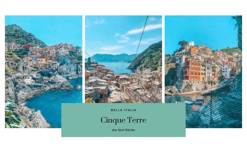 Cinque Terre, 5 Dörfer, Bella Italia, travelchelle_