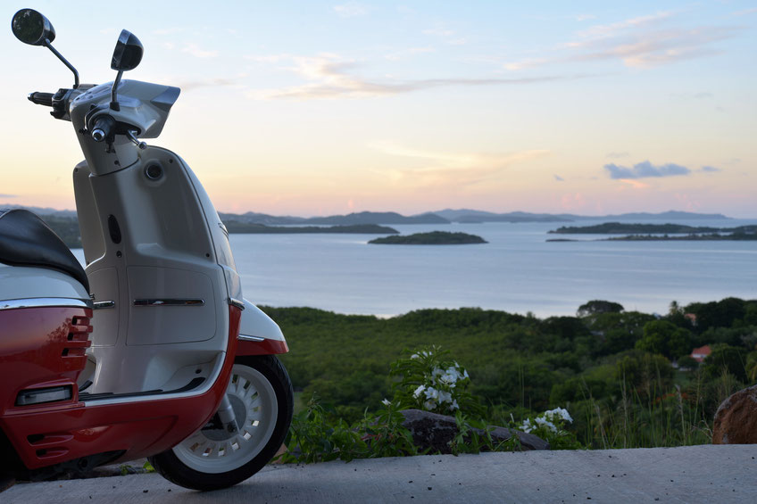 location moto et scooter Martinique.