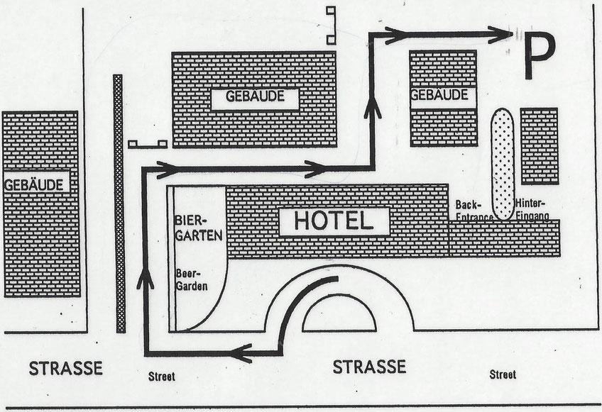 Hotel Anfahrt