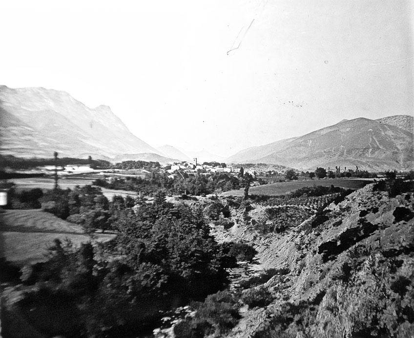 Lit de la Boulzane en 1909