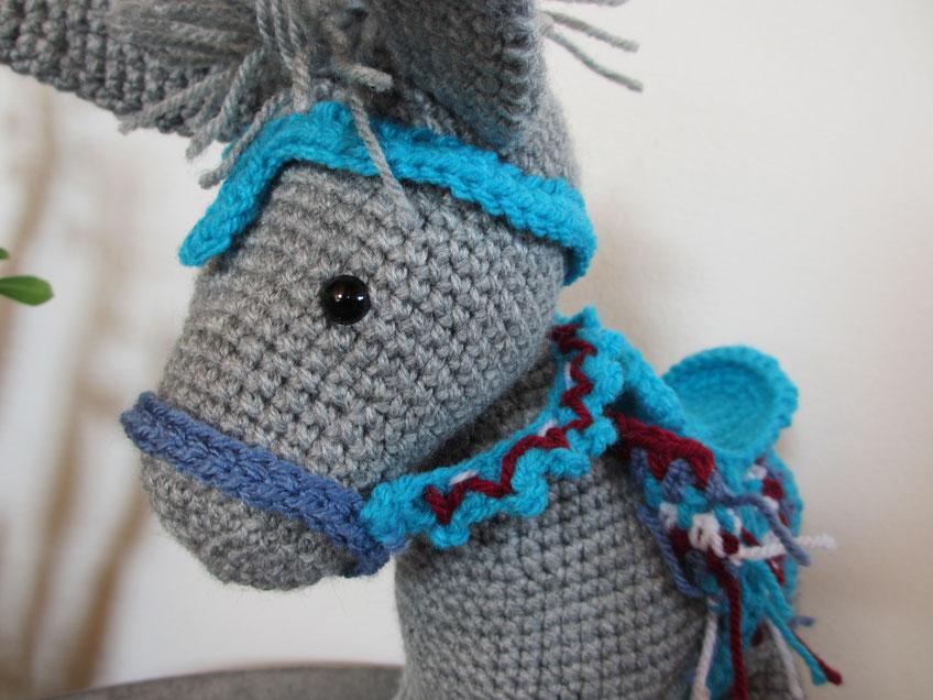 Nachgehäkelt > Pedro, der Esel // Pedro, the donkey - Häkeln macht ...