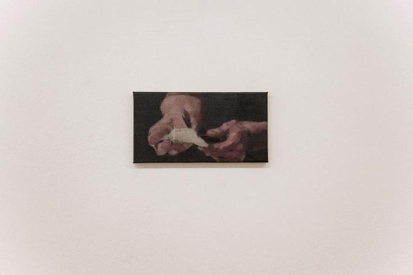 untitled. Oil on linen. 22 x 27 cm. 2015. Nacho Martín Silva