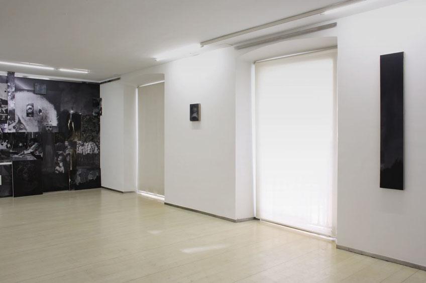 Tirar del hilo hasta quedar ciego. Exhibition view at JosédelaFuente gallery. 2017