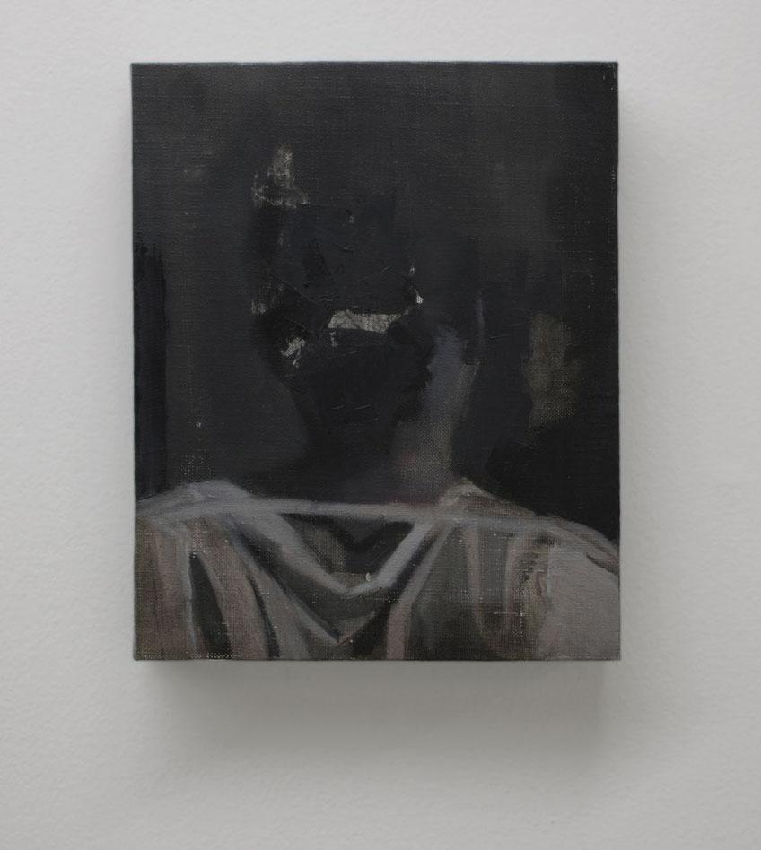 Tea. Oil on linen. 27 x 22 cm. 2017